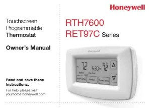 Old Honeywell Thermostat Replacement