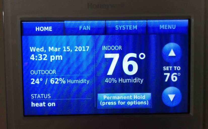 How to Find Honeywell WiFi Thermostat Firmware Version Instructions