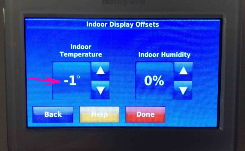How to Calibrate Honeywell Thermostat Temperature, RTH9580WF