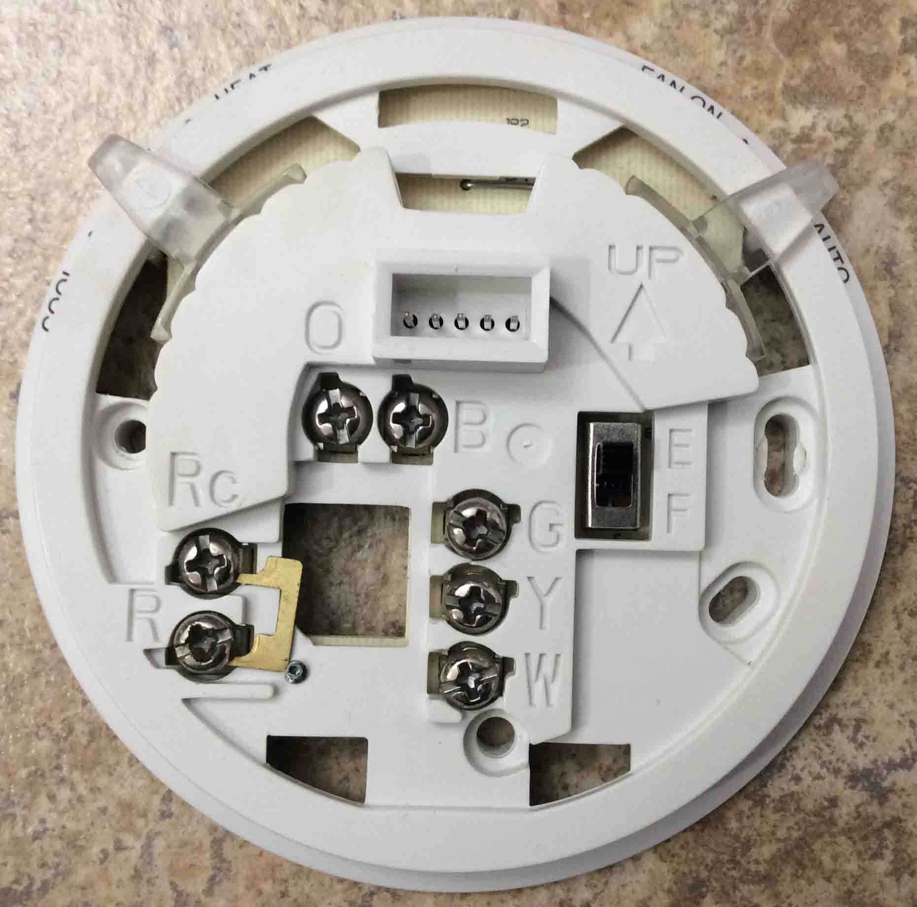 Wiring A Honeywell Room Thermostat