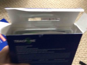TracFone Samsung Galaxy J7 Sky Pro picture gallery. Picture of the Samsung Galaxy J7 Sky Pro Smart Phone, original package with its top open.