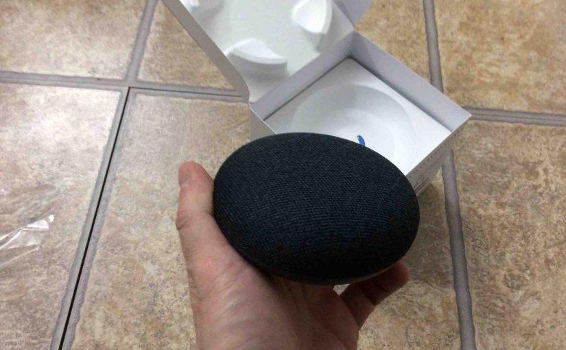 Resetting Google Home Mini Speaker Instructions
