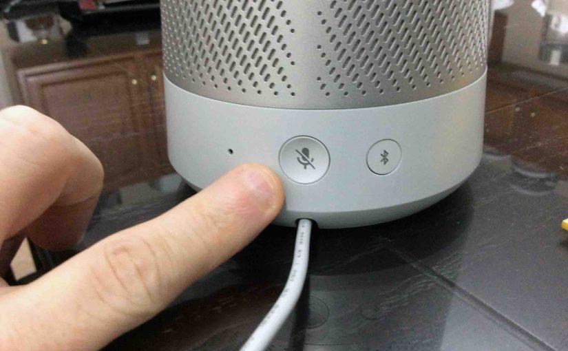 How to Reset Invoke Cortana Speaker, Hard Factory Reset