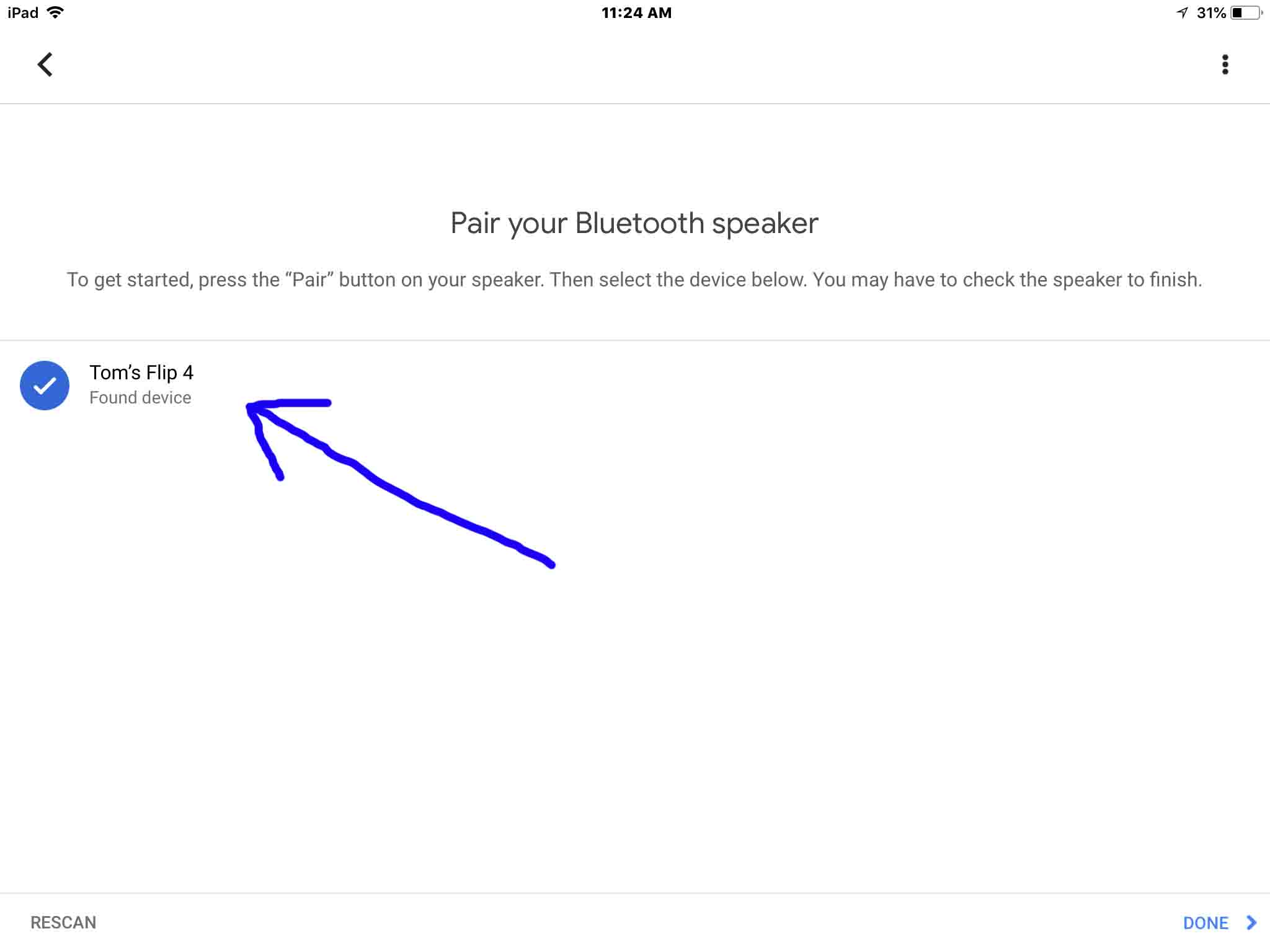 can you use google home as a bluetooth speaker