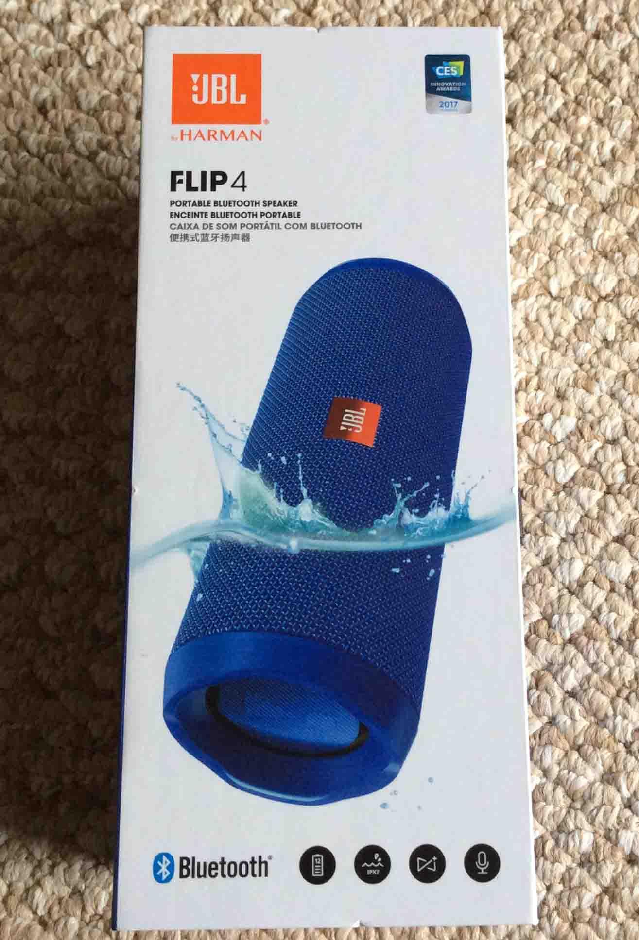 JBL Flip 4 Review of this Portable Waterproof Speaker