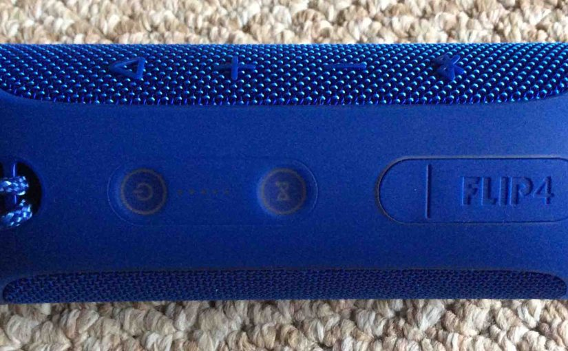 Finding JBL Flip 4 Bluetooth Speaker Current Firmware Version, How To