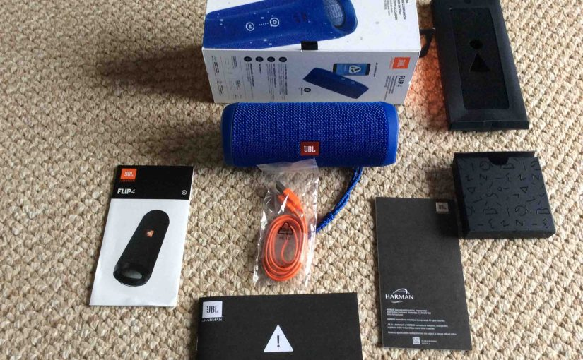 JBL Flip 4 Portable Bluetooth Speaker Picture Gallery