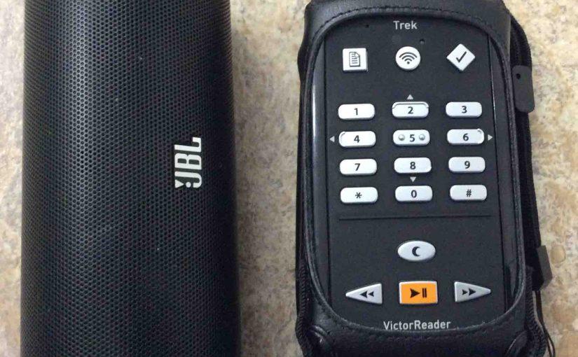 How to Pair Victor Reader Trek with JBL Flip 2 Speaker