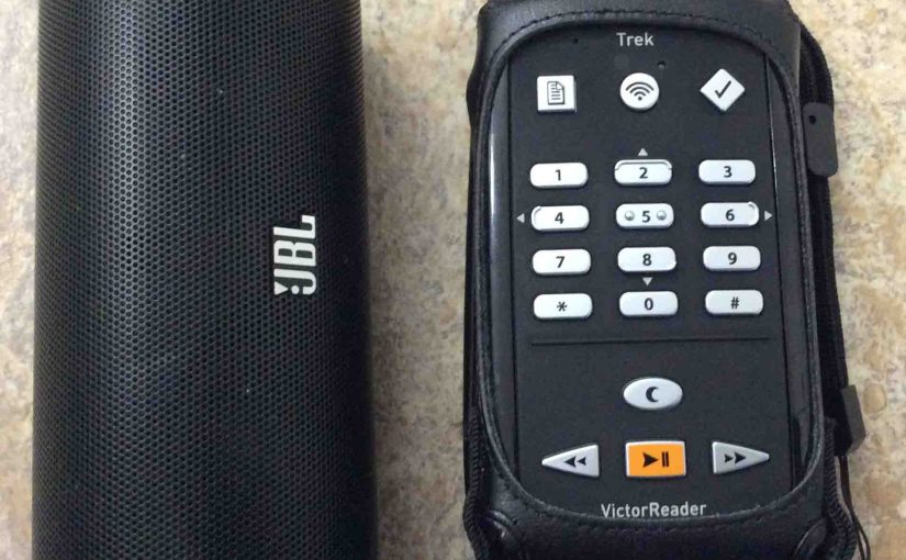 How to Pair Victor Reader Trek with JBL Flip 2 Speaker
