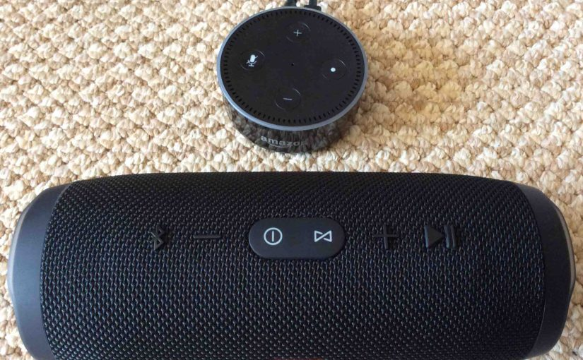 Pairing JBL Charge 3 with Amazon Alexa Echo Dot