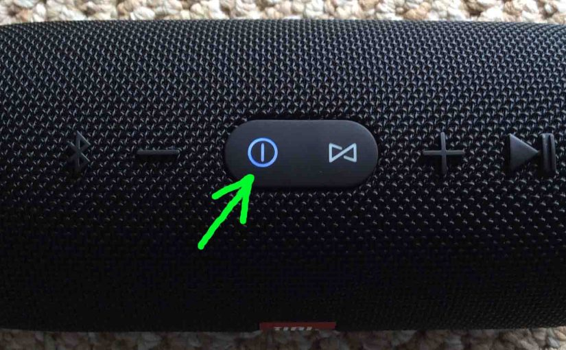Reset Charge 3 Bluetooth Speaker, How To