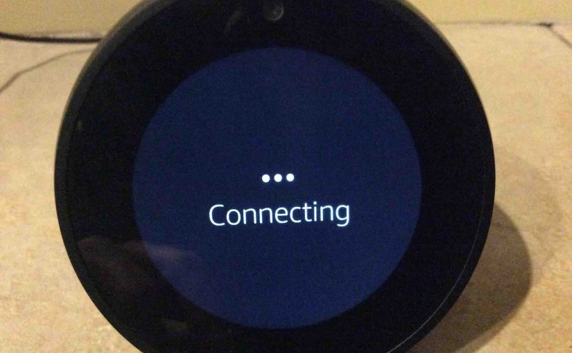 Connect Echo Spot to New WiFi, Help, How To
