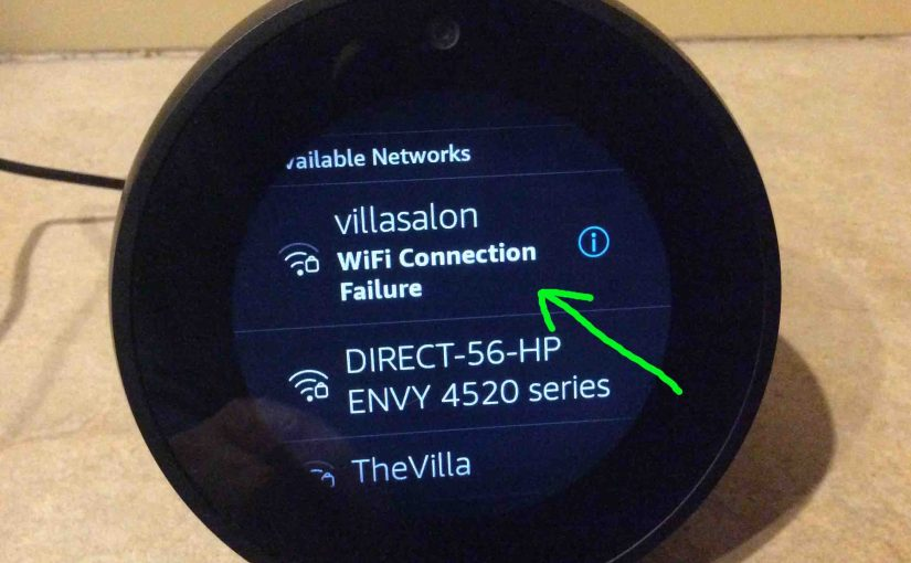 Reset Echo Spot WiFi, How To Instructions
