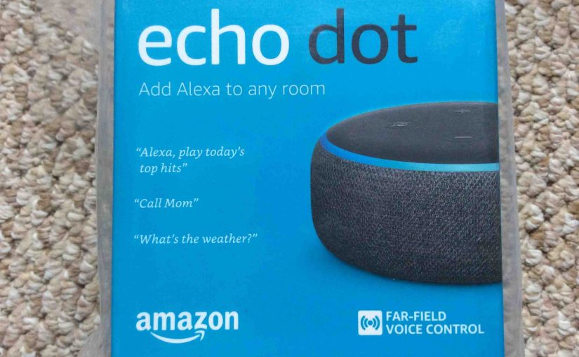 Echo Dot 3 Setup Instructions. Set Up