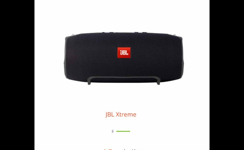 Updating Firmware on JBL Xtreme Speaker