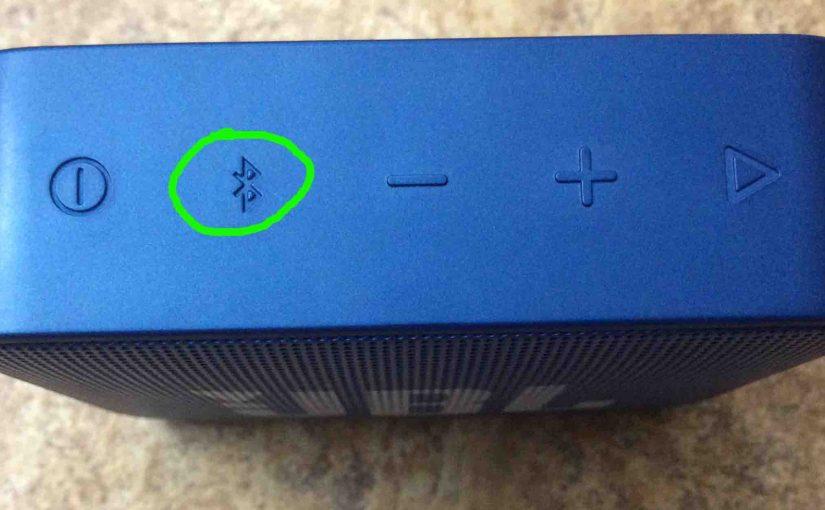 JBL Go 2 Pairing Instructions, Pairing Go 2 JBL Speaker