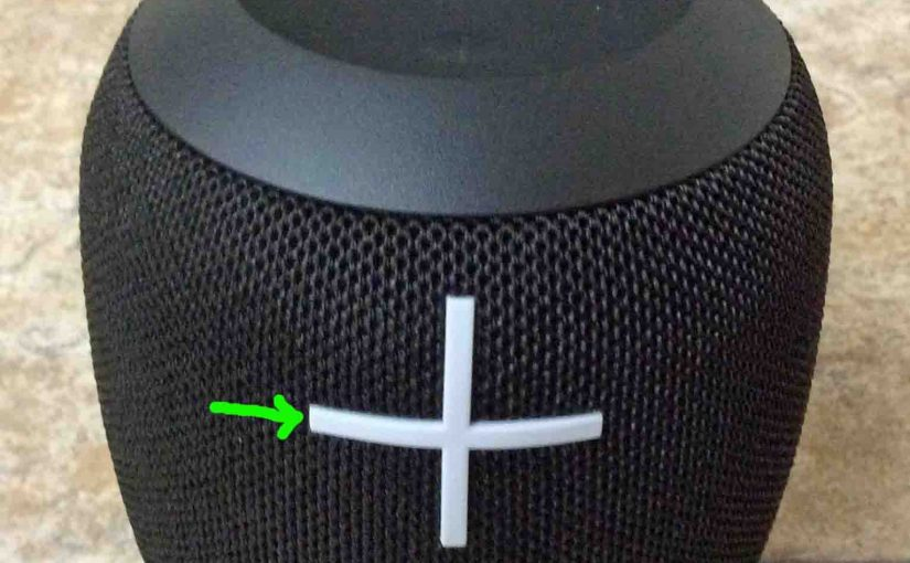 How to Adjust Volume on UE Wonderboom Speaker Instructions