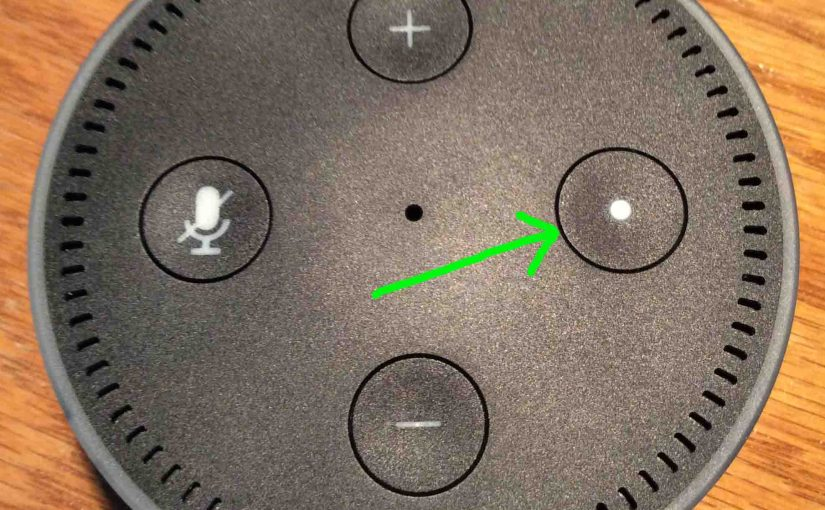 Alexa Echo Dot Buttons Meaning