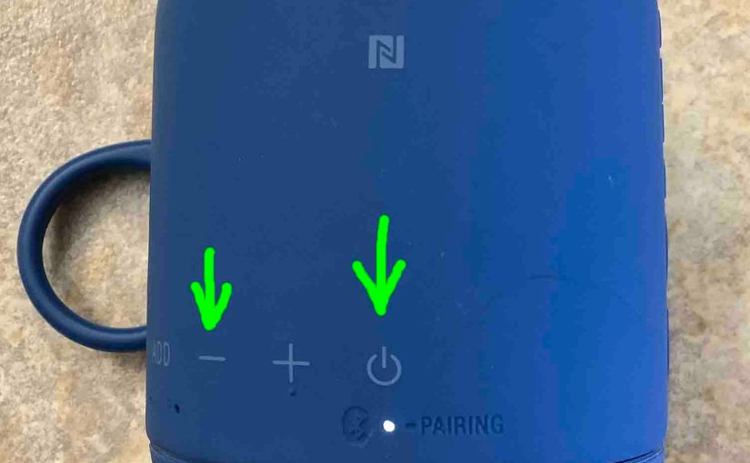 How to Factory Reset Sony SRS XB10 Speaker