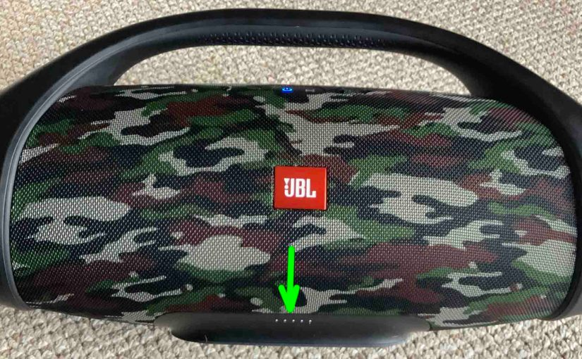 JBL Boombox Charging Instructions, Recharging Time