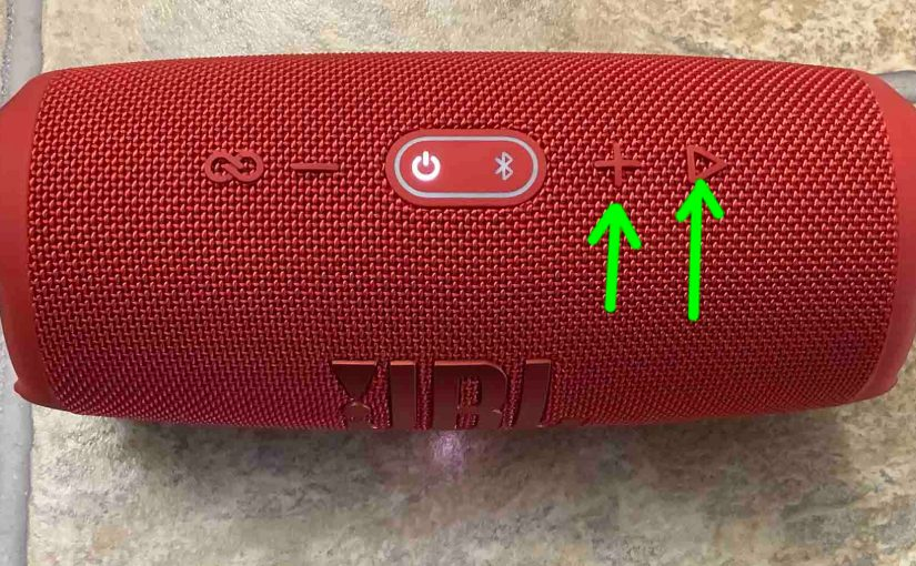 JBL Charge 5 Hard Reset Instructions