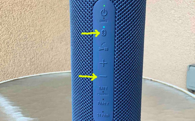 Sony SRS XB23 Buttons Explained, Meanings, Functions