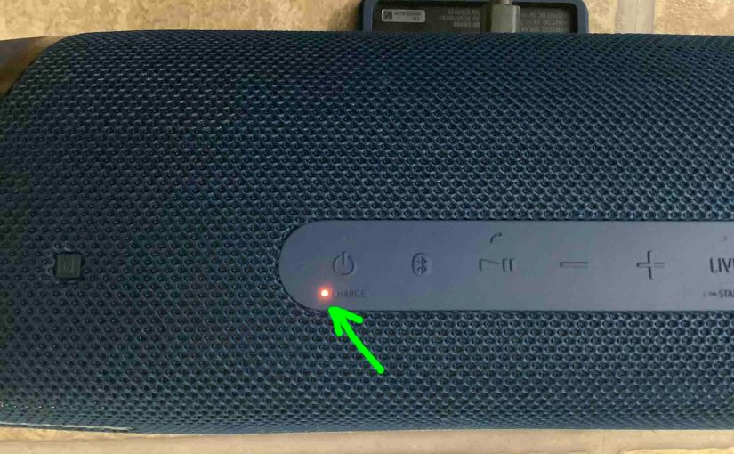 Sony SRS XB43 Battery Indicator Light, How to Read