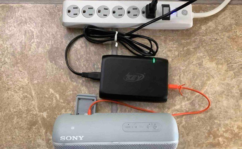 Sony SRS XB22 Charging Instructions