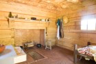 Interior of (reconstructed) slave cabin