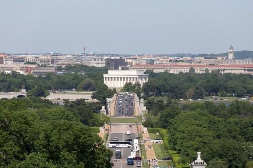 Lincoln Memorial from Arlington House