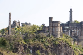 Calton Hill from North Bridge