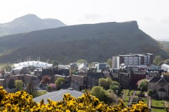 Arthur's Seat and Salisbury Crags from Calton Hill