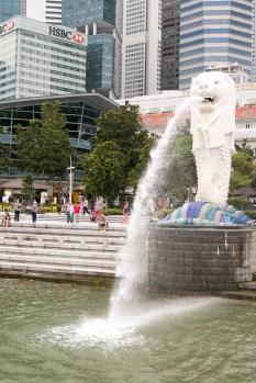 The Merlion, symbol of Singapore