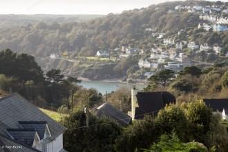 Salcombe from across the estuary