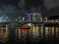 Singapore river & Marina Bay Sands