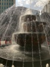 Fountain outside, daytime