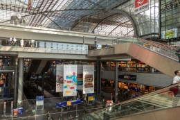 All the levels in the Hauptbahnhof