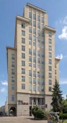 Building at Straussbergerplatz