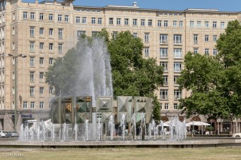 Fountain at Straussbergerplatz