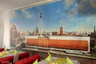 Mural in the Cafe