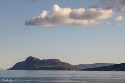 Holy Isle, Arran, from the ferry