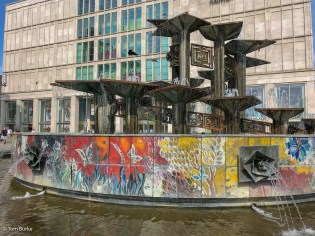 'Friendship of the People' fountain, Alexanderplatz