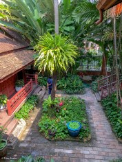 Garden at Jim Thompson house