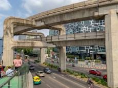 SkyTrain junction near Siam station