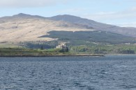 Duart Castle, from the Oban ferry