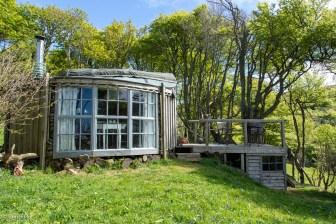 Woodland walk structure