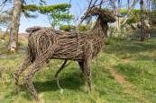 Woodland walk sculpture