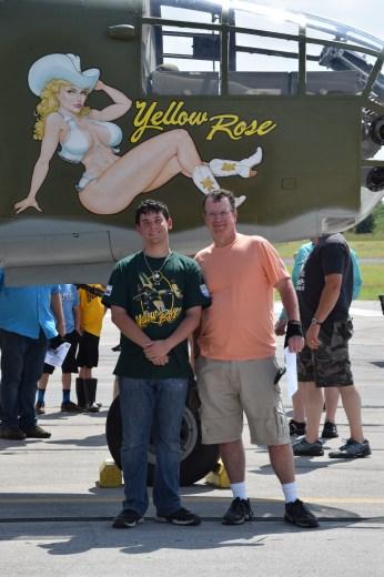 Trey Tom & Yellow Rose