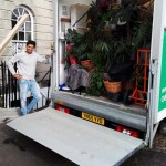 Van loaded ready to set off to Newcastle with our latest Tom's Vans Removals customer