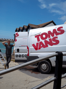 Man and Van Bristol - Tom's Vans - Your Local Man with a Van removals Service